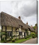 Thatched Cottages Of Hampshire 14 Canvas Print
