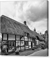 Thatched Cottages Of Hampshire 15 Canvas Print