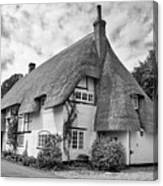 Thatched Cottages Of Hampshire 17 Canvas Print