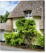Thatched Cottages Of Hampshire 19 Canvas Print