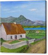 Thatched House 2 Canvas Print