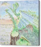 The 18th Hole Canvas Print