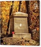 The 20th Maine Canvas Print