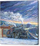 The 501 In Winter Canvas Print
