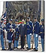 The 54th Regiment Bos2015_191 Canvas Print