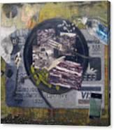 the 7 contemporary sins - Gluttony Canvas Print