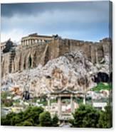 The Acropolis - Athens Greece Canvas Print