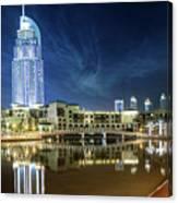 The Address Dubai Canvas Print