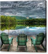 The Adirondack Mountains - Forever Wild Canvas Print