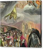 The Adoration Of The Name Of Jesus Canvas Print