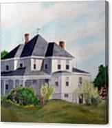 The Adrian Shuford House - Spring 2000 Canvas Print