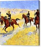 The Advance 1898 Canvas Print