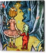 The Adventurers Canvas Print