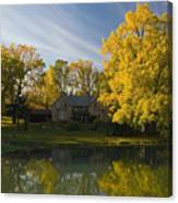 The Alexander Farm And Pond Canvas Print
