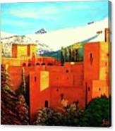 The Alhambra Of Granada Canvas Print