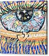The All Seeing All Colourfull.... Canvas Print