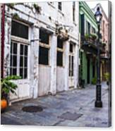 The Alleyway Canvas Print