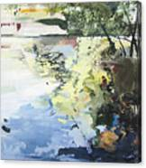 The Alster In High Summer Canvas Print