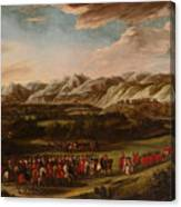 The Ambassadorial Procession Canvas Print