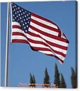 The American Flag Canvas Print