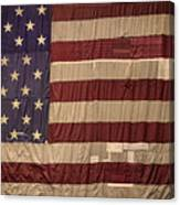 The American Flag Canvas Print