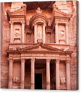 The Ancient Treasury Petra Canvas Print