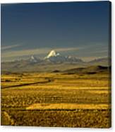 The Andes Canvas Print