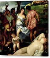 The Andrians Canvas Print