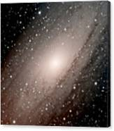 The Andromeda Galaxy Close  Up Canvas Print