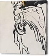 The Angel Canvas Print