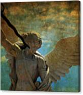 The Angel Of The Last Days Canvas Print
