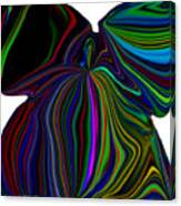 The Angel Of The Rainbow Canvas Print
