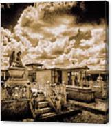 The Angel on a Cuban Grave Canvas Print