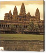 The Angkor Wat Temples In Siem Reap Canvas Print