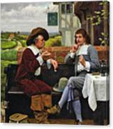 The Anglers Rest  Canvas Print