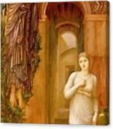 The Annnciation 1879 Canvas Print