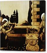The Annunciation Canvas Print