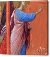 The Annunciation Fragment 1311 Canvas Print