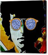 The Answer Is Blowin' In The Wind. Bob Dylan Canvas Print