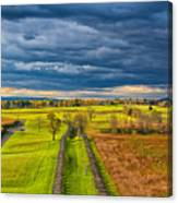 The Antietam Battlefield Canvas Print