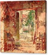 The Antiquarian's Shop Canvas Print