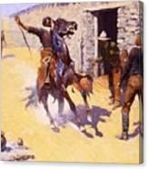 The Apaches Canvas Print