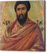 The Apostle Bartholomew 1311 Canvas Print