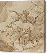 The Apotheosis Of San Vitale Canvas Print