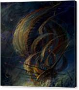 The Apparation Canvas Print