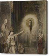 The Apparition Canvas Print