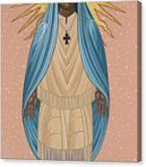The Apparition Of St Kateri Tekakwitha 192 Canvas Print