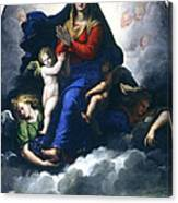 The Apparition Of The Virgin Canvas Print