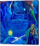 The Aquarian Family Tree  Canvas Print