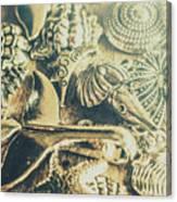 The Aquatic Abstraction Canvas Print
